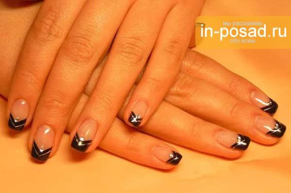 Наращивание ногтей дизайн на квадратные ногти